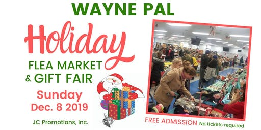 Wayne PAL Holiday Flea Market & Gift Fair