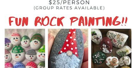 Fun Rock Painting tickets