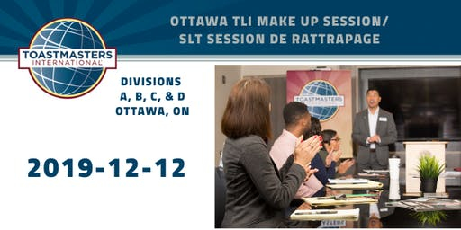 OTT TLI Make Up Session/SLT Session de Rattrapage