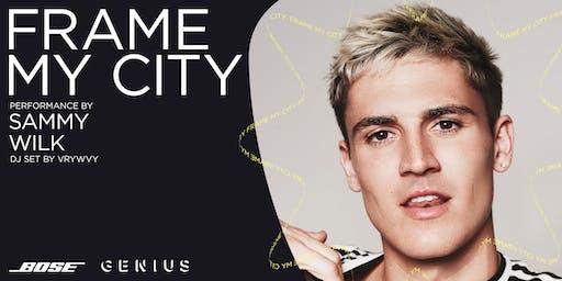 Bose x Genius: Frame My City | Ft. Sammy Wilk and DJ VRYWVY