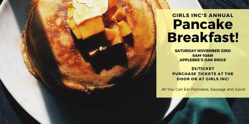 Girls Inc Annual Pancake Breakfast!