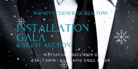 Installation Gala & Silent Auction tickets