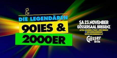 Die legendären 90ies & 2000er! Tickets