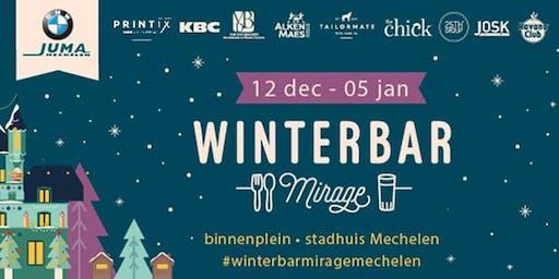Winterbar Mirage Mechelen: Concertband van Heffen met guest Günther Neefs