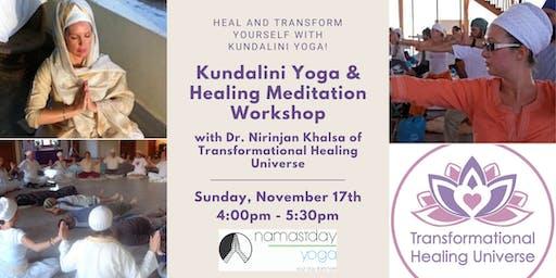 Kundalini Yoga & Healing Meditation Workshop with Dr. Nirinjan Khalsa