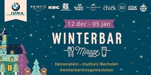 Winterbar Mirage Mechelen: New Year's Eve 2019