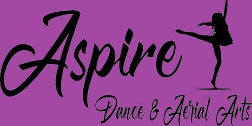 Aspire Arts - Acro-Jazz & Aerial Silks - Age 7-9