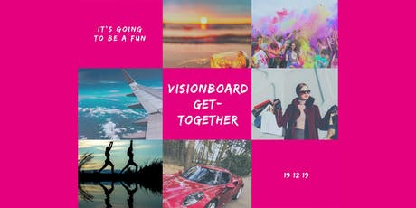 Visionboard 2020 Get Together by Yvonne Heil | MindsetCoach Tickets