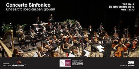 Concerto Sinfonico: una serata speciale per i giovani biglietti