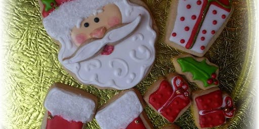 Basic Art of Cookie Decorating ~ Christmas edition at the Very Vintage Christmas Market
