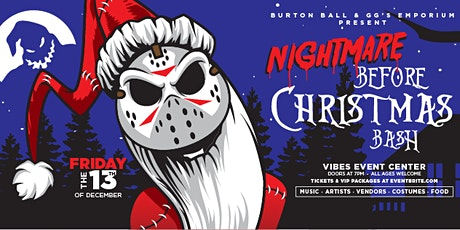 Nightmare Before Christmas Bash tickets