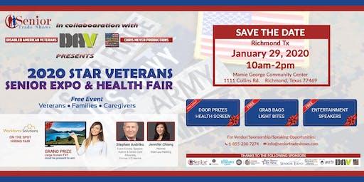 2020  Star Veterans Expo & Health Fair-Richmond, Tx
