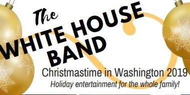 The White House Band - Christmastime in Washington