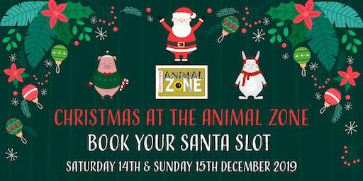 Christmas at the Animal Zone - meet Santa