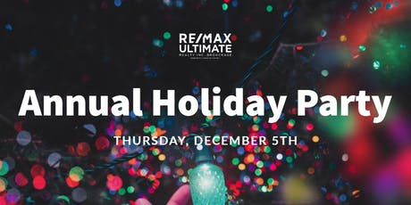 Annual Holiday Party 2019 tickets