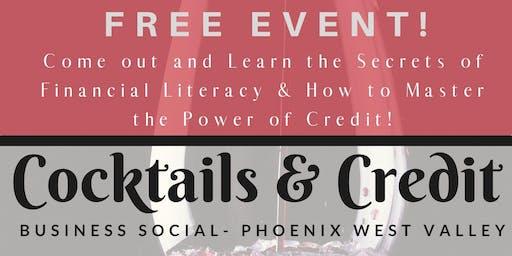 Cocktails & Credit Phoenix West Valley 11.19.2019