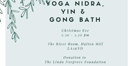 Yoga Nidra, Yin & Gong Bath on Christmas Eve tickets