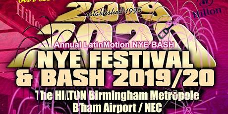 LatinMotion NYE FEST & BASH 2019/20 tickets