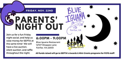 Parents' Night Out at the Blue Iguana