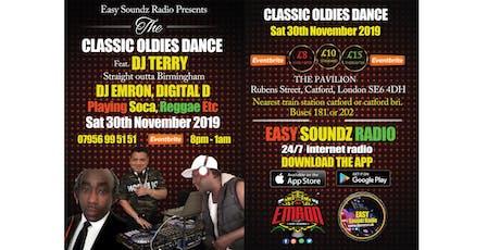 Easy Soundz Radio Presents The Classic Oldies Dance tickets