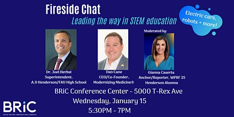 Fireside Chat: Leading the way in STEM education tickets