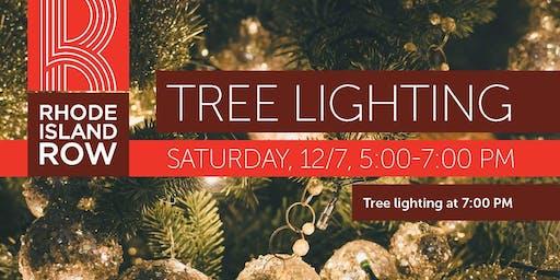 Annual Tree Lighting at Rhode Island Row