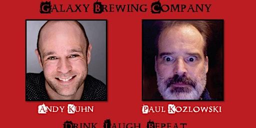 Laughs and Draughts at Galaxy Brewing Company