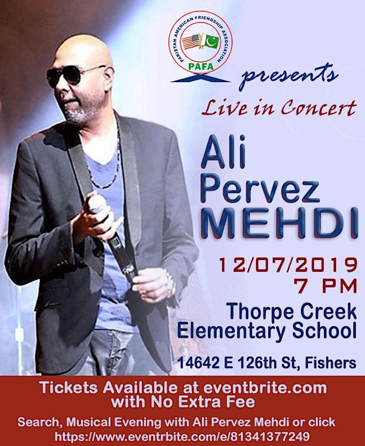 Musical Evening with Ali Pervez Mehdi image