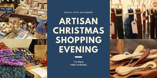 Adults-only Artisan Christmas Shopping Evening