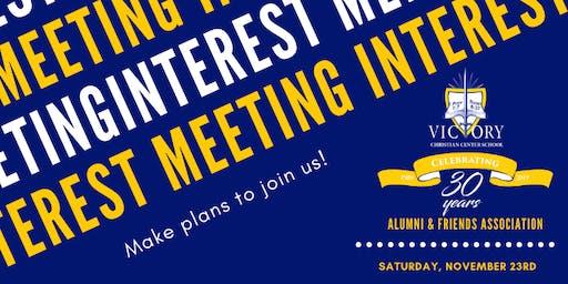 VCCS Alumni & Friends Interest Meeting