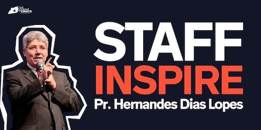 STAFF INSPIRE com Pr. Hernandes Dias Lopes