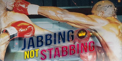 Dr Mark Prince OBE & The Kiyan Prince Foundtion Presents an evening called JABBING NOT STABBING