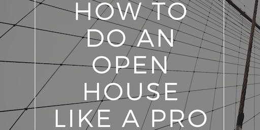 How to Do an Open House Like a Pro w/ Todd Coleman