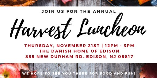 Annual Harvest Luncheon