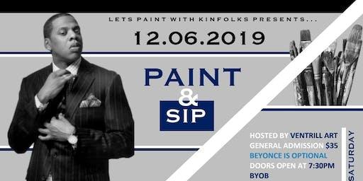 Jay Z Paint N Sip