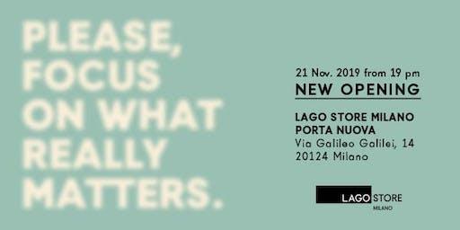 LAGO Store Milano Porta Nuova Opening Party