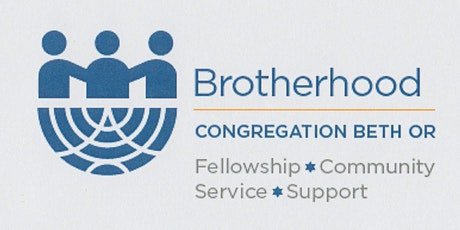 2020 Beth Or Brotherhood Annual Man of the Year Dinner and Shabbat Worship tickets