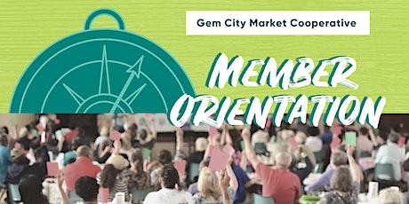 Gem City Market Member Orientation tickets