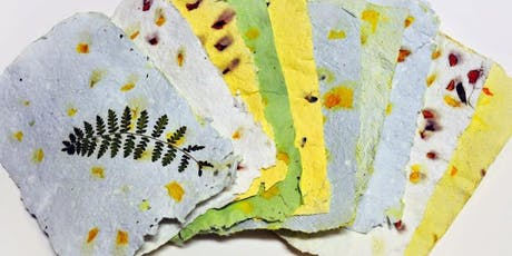 Pulp to Print: Paper Making & Printing - YOUNG PIONEERS WORKSHOP tickets