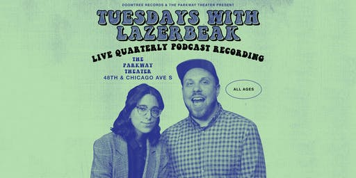 Tuesdays with Lazerbeak // Live Podcast Recording feat. P.O.S.