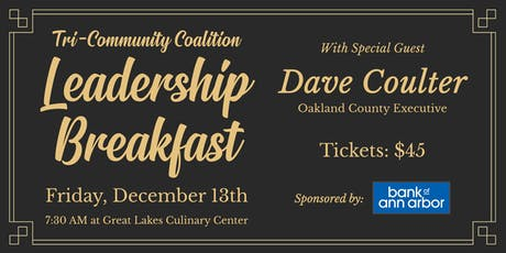 2019 TCC Leadership Breakfast tickets