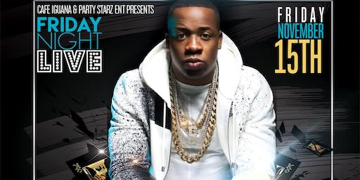 """ YO GOTTI "" LIVE EVERYONE IN FREE & LADIES DRINK FREE FROM 11PM TILL 1AM"