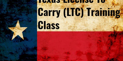 Texas License To Carry Training Class (LTC)