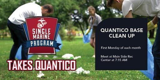 Quantico Single Marine Program (SMP) Volunteer - Base Clean-Up Volunteer Event