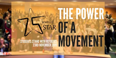 The Power of a Movement: students stand with refugees - NATIONAL STUDENT CONFERENCE tickets