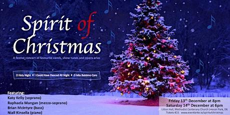 Spirit of Christmas tickets