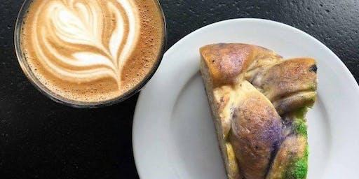 King Cake & Coffee