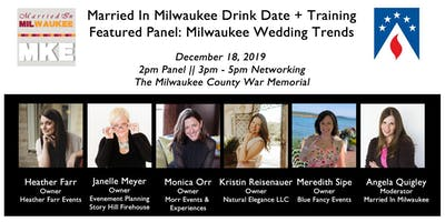 Married In Milwaukee Drink Date + Training: Milwaukee Wedding Trends 2020