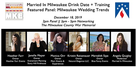 Married In Milwaukee Drink Date + Training: Milwaukee Wedding Trends 2020 tickets