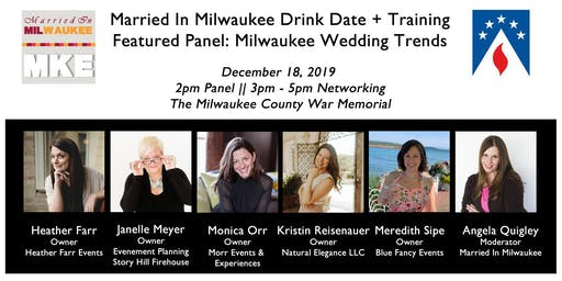 Married In Milwaukee Drink Date + Training: Milwaukee Wedding Trends 2020